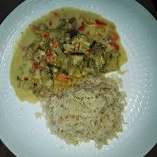 cuisine vapeur recettes minceur curry de poulet au lait de coco ananas riz cuisson vapeur
