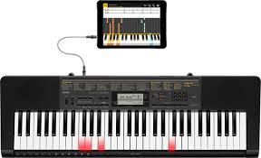 piano keyboard with light up keys chordana play apps casio music