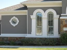 stucco home details new construction homes window grey and