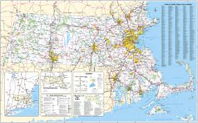 Massachusetts national parks images Large scale detailed roads and highways map of massachusetts state jpg