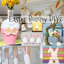 easter decorations easter decorations 10 easter bunny diys of diy