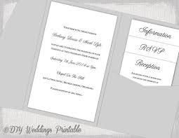 pocketfold wedding invitations pocket wedding invitations template diy pocketfold wedding