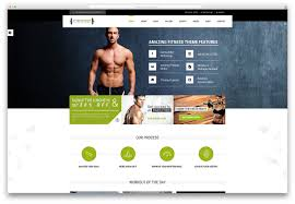 free homepage for website design 20 best wordpress fitness themes 2017 for gym and fitness centers