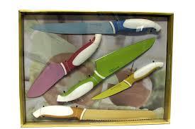 amazon com brandini italian style 5 piece colorful starter knife