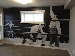 wall murals decals edmonton wall graphics edmonton signkore basement sports room wall mural jpg