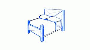 Home Design 3d Videos by Rotation Of 3d Bed Interior Design Furniture Room Bedroom Home