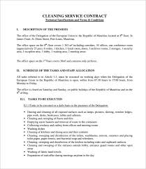 republic of tea black friday sample cleaning contract template 9 best forms images on