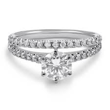 6 prong engagement ring 1 56ctw classic v prong cut engagement ring