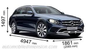 mercedes length mercedes e all terrain 2017 dimensions boot space and interior