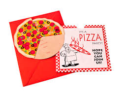 Shop Invitation Card Pizza Party Invitation Card Mummys Party Shop