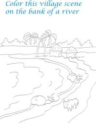 scenery coloring pages 84 coloring kids scenery