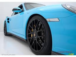 2010 light blue paint to sample porsche 911 turbo coupe 28659195