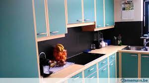 cuisine bi couleur meubles de cuisine mobalpa bi couleur bois et vert a vendre