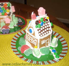 ideas for a gluten free gingerbread house