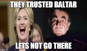 Battlestar Galactica Meme - baltar clinton imgflip