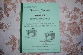 Complete Service Manual On Cd For Singer 700 706 708 720 726 728