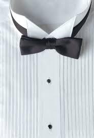 901 wing tip collar 1 4 pleated tuxedo shirt