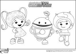 team umizoomi coloring pages colouring drawings