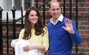 royal baby princess charlotte on first outing from kensington