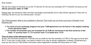 Blanket Certification Letter Guide To Student Exchange In Germany Part 2
