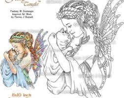 fairy coloring etsy