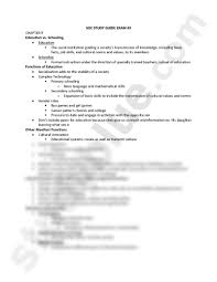 soc study guide exam 3 sociology 101 with fey at arizona state