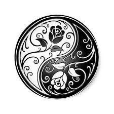 Ying Yang Tattoo Ideas Best 25 Two Roses Tattoo Ideas On Pinterest Tatuajes De Encaje