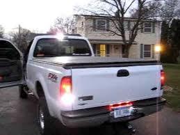 strobe light installation truck hideaway strobes cargo light youtube
