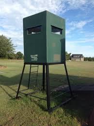 dillon 4x4 deer blind w tower for sale in gunter tx 5miles