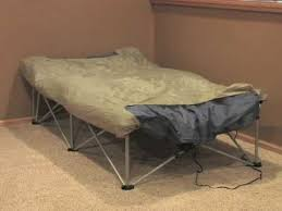 Folding Air Bed Frame Columbia Anywhere Bed Youtube