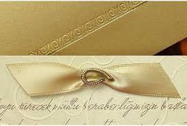 faire part mariage chic faire part mariage dorure et noeud brillant