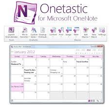 onenote calendar template template design