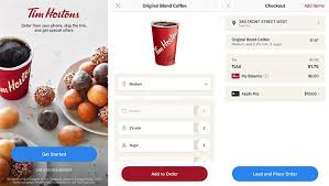 you can now order ahead at tim hortons using your iphone with