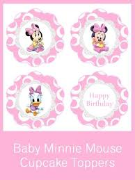 42 minnie printables images bottle cap images