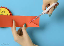 paper ribbons diy paper award ribbon s day craft idea easy peasy and