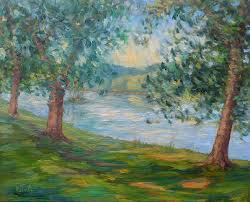 stunning ideas easy paintings of nature for beginners easy paintings of nature oil painting 810