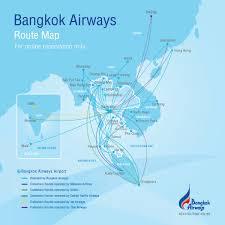 Phuket Thailand Map Route Map Bangkok Airways