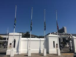 Flags At Half Mass Today Flag At Half Mast Outside Parliament In Honour Of The Late