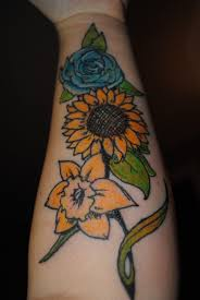 daffodil tattoo traditional pictures to pin on pinterest tattooskid