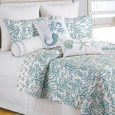 bedroom cora coral and turquoise bedding for beautiful bedroom