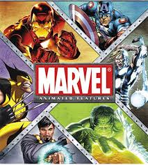 marvel animated features 8 film complete collection bundle hdx