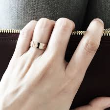 cartier love rings images Cartier love ring rose gold on a celine trio burgundy my jpg