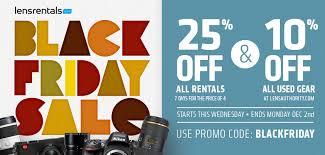 cameras on sale black friday lens rentals blog