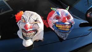 Clown Costumes Use Caution With U0027creepy Clown U0027 Costumes This Halloween Police