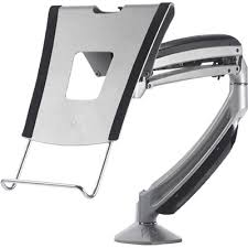laptop arm with options for desk or wall or pole mount