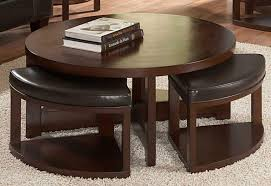 table with stools underneath 15 inspirations of round coffee table with stools underneath