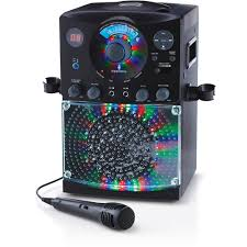 singing machine with disco lights the singing machine sml385btw bluetooth karaoke system with led