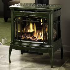stand alone gas fireplace binhminh decoration