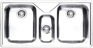 Franke Ariane Arx  Triple Bowl Stainless Steel Sink Arx - Stainless steel kitchen sinks australia