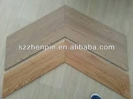 prefinished oak wood chevron parquet flooring brushed white washed
